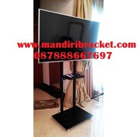Jual Braket TV Stand Hollow 2 Tiang