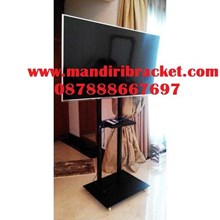 TV Bracket Stand Hollow 2 Pole