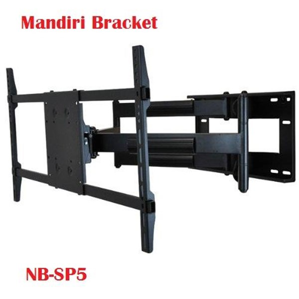 Braket TV LCD North Bayou model swivel