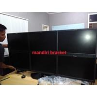 bracket tv monitor custom 6 monitor