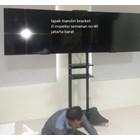 braket tv bracket standing plat kupu kupu dual tv murah 3