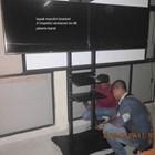 braket tv bracket standing plat kupu kupu dual tv murah 5