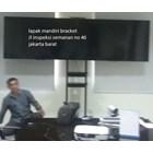 braket tv bracket standing plat kupu kupu dual tv murah 4