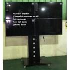 Braket tv stand bracket tv berdiri model kupu kupu 4 tv 8