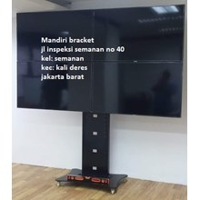 Bracket tv stand model kupu kupu 4 tv