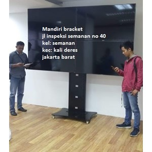 Bracket tv berdiri Stand 4 tv led lcd