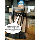 Bracket TV led Stand meja custom  3