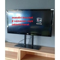 Bracket TV led Stand meja custom