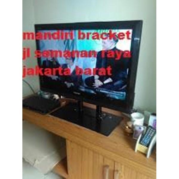 Bracket TV led Stand meja custom
