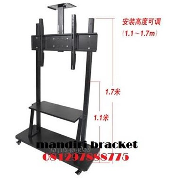 Braket tv standing type HWL import video comfrens
