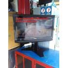 bracket tv stand meja swivel plat kupu kupu murah 8