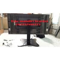 braket tv stand meja custom plat kupu kupu murah Murah 5