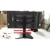Distributor braket tv stand meja custom plat kupu kupu murah 3