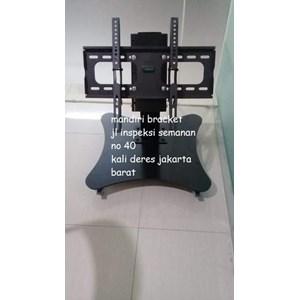 braket tv stand khusus untuk depan meja rapat