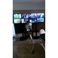 Beli Braket TV Standing plat kupu-kupu (2 LCD LED TV) 4