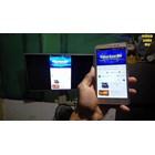 Braket tv Standing plat Kupu-Kupu Tiang Lebar free kabel data hp to tv murah 3