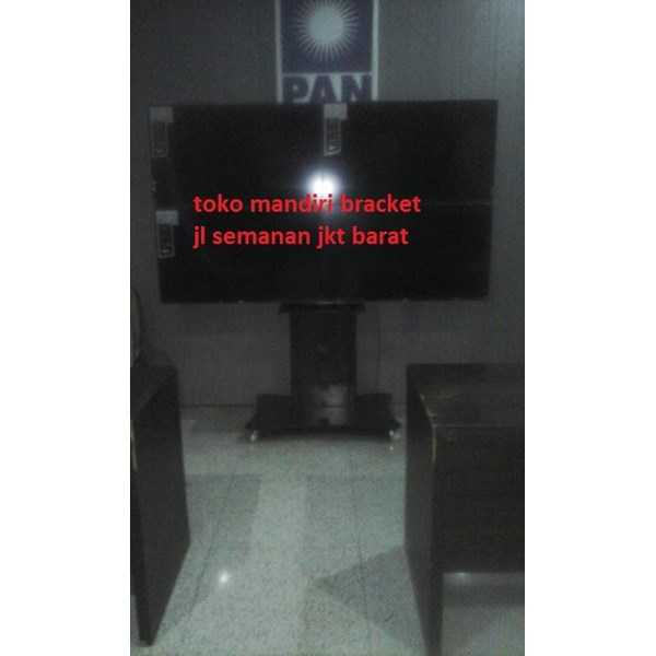 Bracket tv stand kupu kupu 2 x 2 4tv lapak mandiri bracket