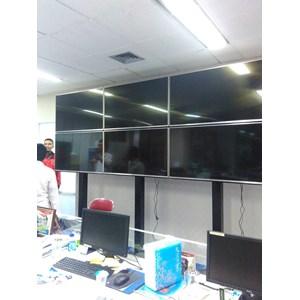 Braket tv Video wall jasa pembuatan