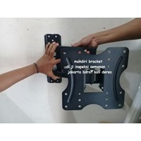Buy Braket tv swivel 32 -  55inc looktech Type DF520  Murah dan Terlengkap Mandiri bracket 4