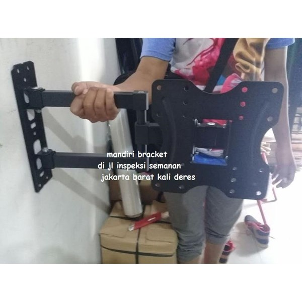 Bracket tv swivel 32-55inc looktech Type DF520  Murah dan Terlengkap Mandiri
