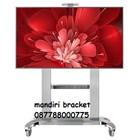 Bracket TV stand north bayou type cf 100 white  2