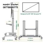 Bracket TV stand north bayou type cf 100 white  4