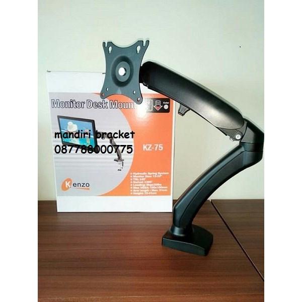 Bracket TV dextop meja KENZO 12 Inch - 32 Inch Universal kenzo KZ-75