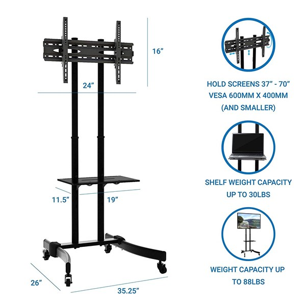 Tiang Bracket TV stand looktech 65s