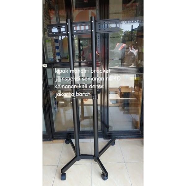 Bracket tv stand berdiri kenzo kz 56 murah