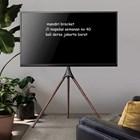 bracket tv stand tripod looktech 65f  6