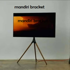 bracket tv stand tripod looktech 65f  3