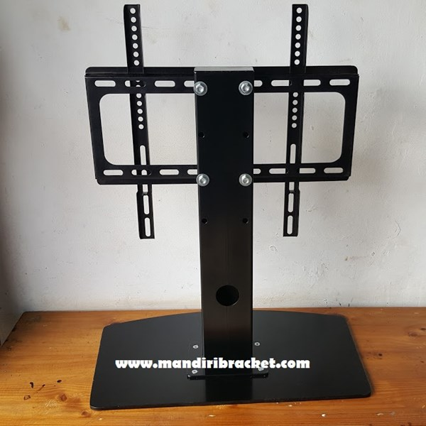Bracket TV led lcd Stand meja custom mandiri bracket
