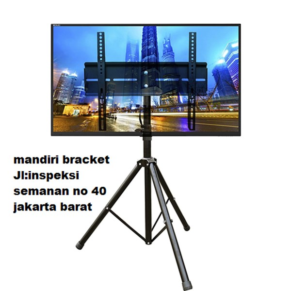 Bracket tv stand tripod murah