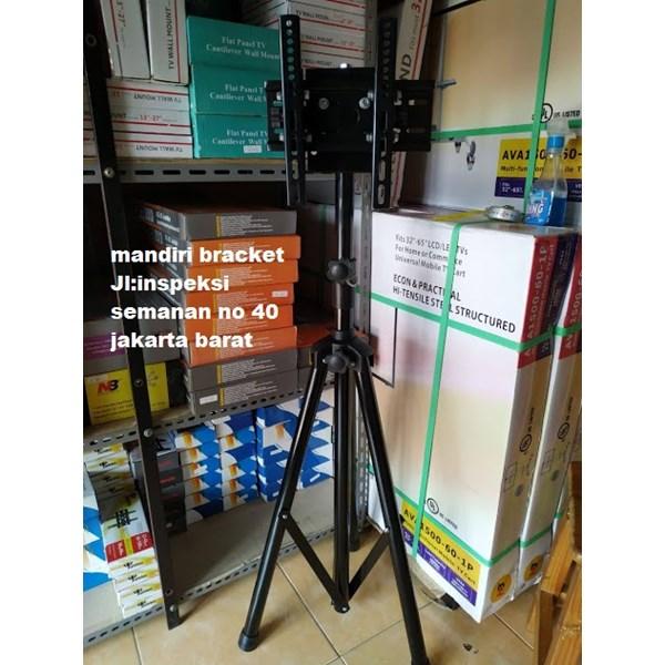 bracket tv berdiri tripod murah