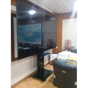 Terima jasa bracket Customize Full Installation LCD LCD TV dan Video Wall