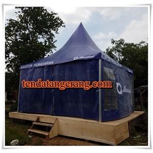 Tenda Sarnafil untuk kantor pemasaran