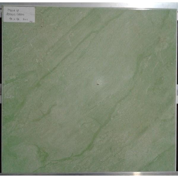 Keramik Lantai Mulia Signature Adonis Green