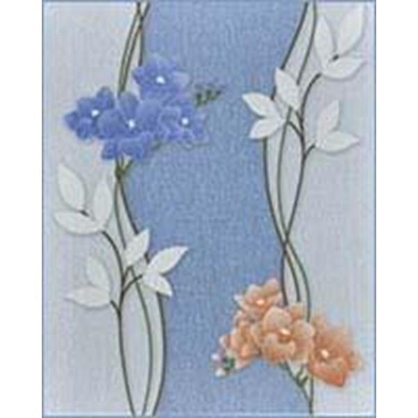 Keramik Dinding Mulia Spectrum Iris Blue