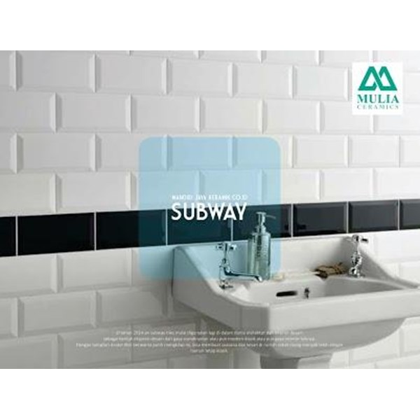 Keramik Subway Bevel Mulia
