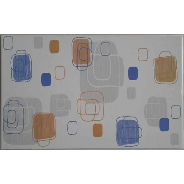 Keramik Dinding Mulia Signature Altima Blue 25x40