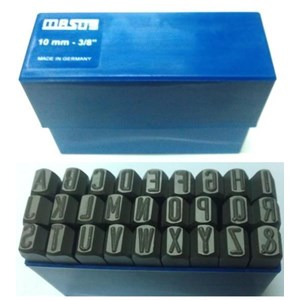 Mesin Emboss - Masus - Letter Punch - Stamp Punch Punch
