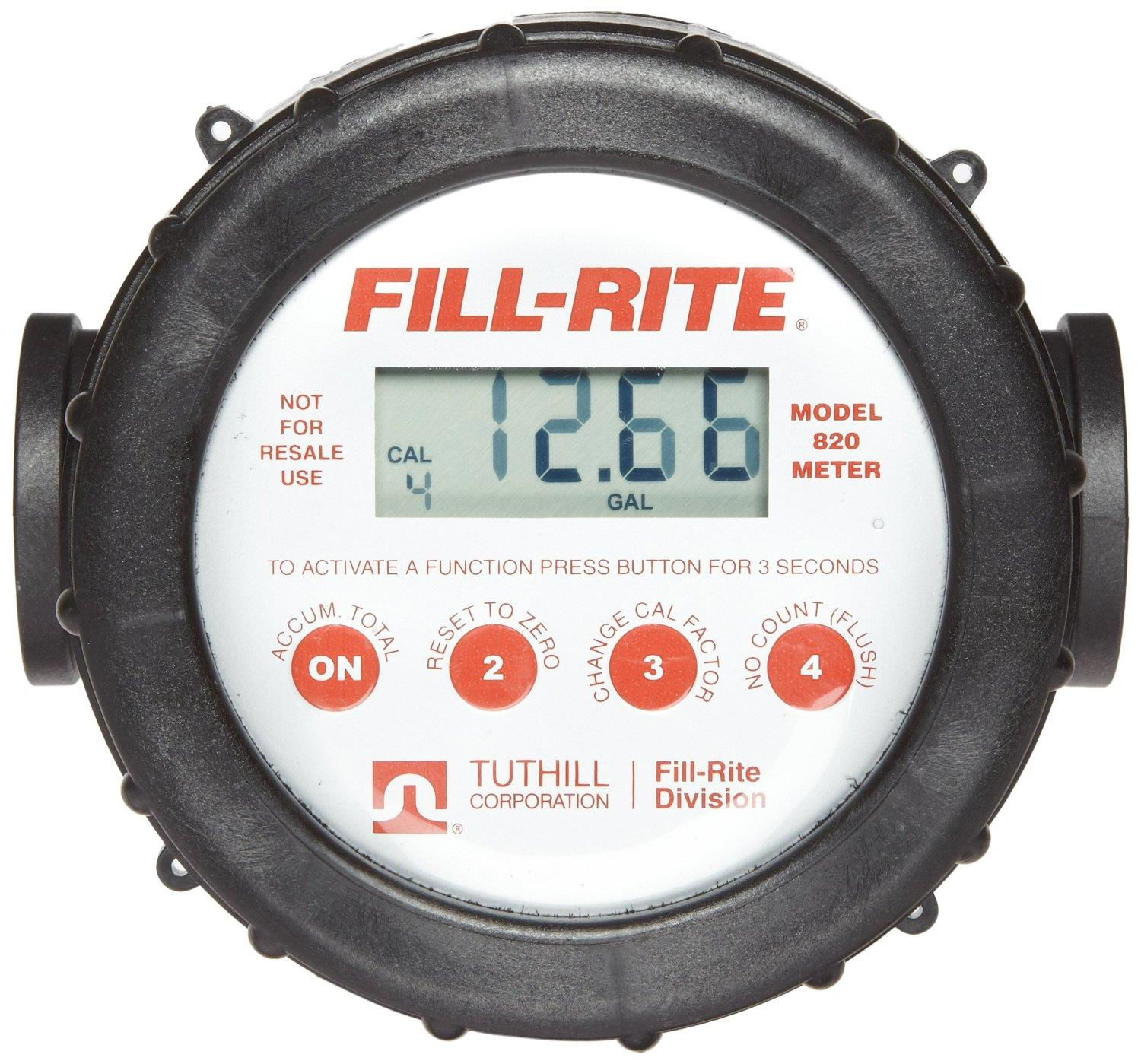 Flow Force Indonesia: Sell Digital Flow Meter Tuthill Fill-Rite FR820 From