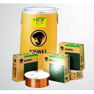 Flux Welding Kiswel - Kawat Las CO2 Flux Core KISWEL