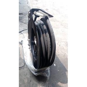 Dari Selang Hidrolik - Motorized Pneumatic Hose Reel -  Grease Hose Reel 1/4