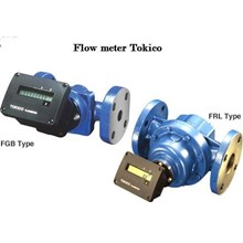 Flow Meter - Oil Flow Meter Tokico - Flow Meter Oil Tokico - Tokico Oil Flow Meter - Oil Flow Meter Tokico Electronic Totalizing type FGB.