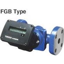 Flow Meter Tokico - Flow Meter Oil Tokico FGb - Totalizing Electronic Flow meter Tokico FGB DN