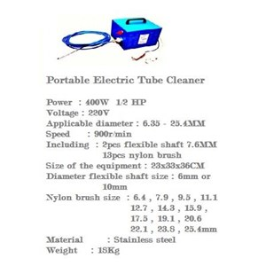 Polisher Electric Portable Tube Cleaner...Portable Electric Tube Cleaner.