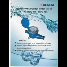 Flow Meter - Bestini -  Water Meter Bestini 50mm - 300mm