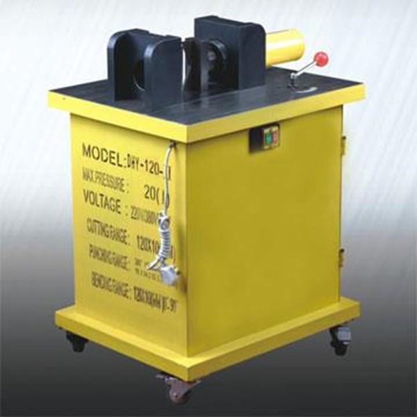 Mesin Potong Plat - Hydraulic Puncher Busbar Processor - Electric Busbar Cutter 3in1 - 3in1 Hydraulic Busbar - HYDRAULIC BUSBAR PROCESSOR - 3 in 1 Hydraulic Busbar Processor