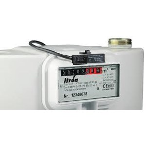 From Gas Flow Meter Itron and Water Meter Itron 1